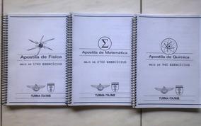 Ita / Ime Apostilas Poliedro - Matemática, Física, Química
