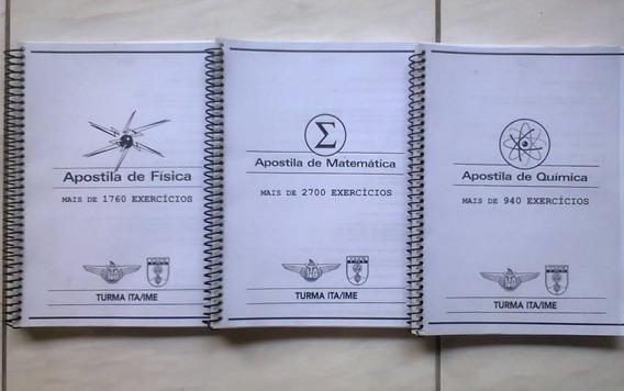 Ita / Ime Apostila Poliedro - Física, Matemática, Química