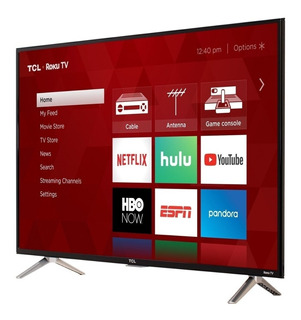 Television 32 Smart Tv Led Lcd Hdtv Tcl Con Roku Tv 32s321