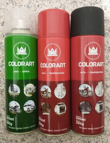 Imagem 1 de 2 de Kit Spray De Tintas