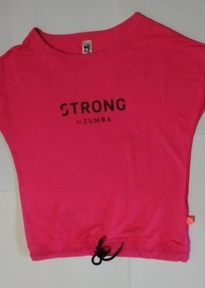 Remera Zumba Strong Instructor Nueva Talle M