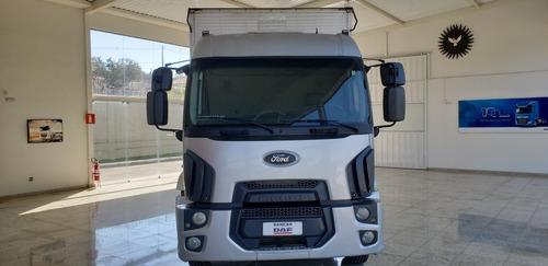 Imagem 1 de 12 de Ford Cargo 2429 2015 Bau 8m Completo C/ Ar Condicionado