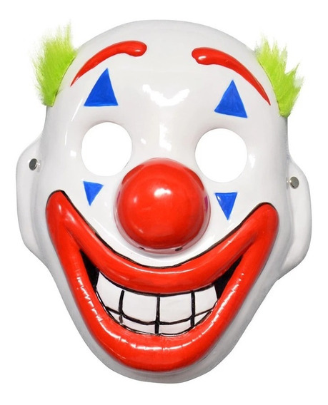 Mascara Joker Guason Halloween Clown Payaso Joaquin Phoenix