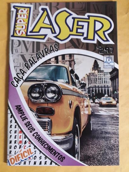 Revista Super Laser N°287 - Caça Palavras (nível Difícil)