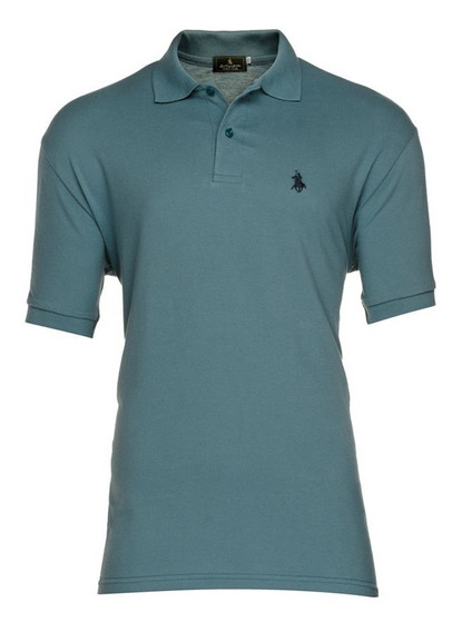 Playera Polo Club - Petroleo