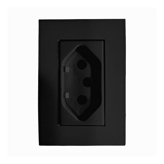 Tomada 20a Black (interruptor, Embutir Móveis, Painéis)