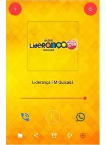 Aplicativo Para Rádio Web Com Mensagem No Whatsapp E Ligação