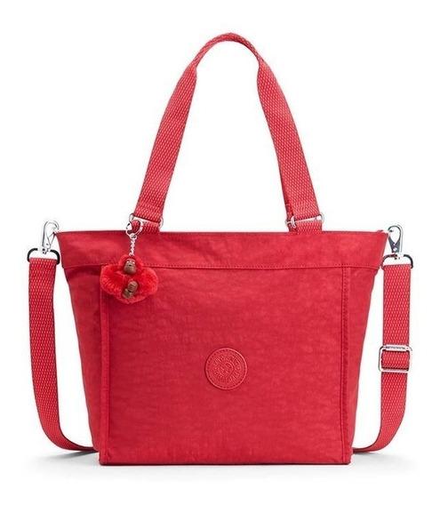 Bolsa New Shopper Kipling Vermelha Original Envio Imediato