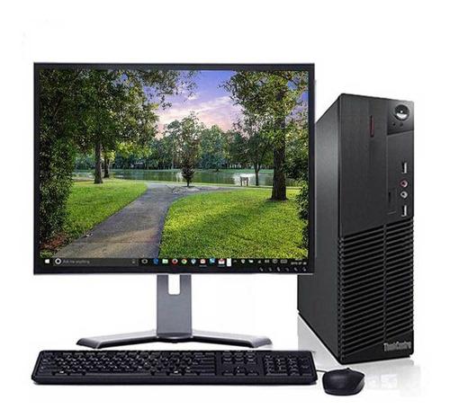 Imagem 1 de 8 de Computador Lenovo M92 I3 4gb Ddr3 Ssd 120gb + Monitor 17