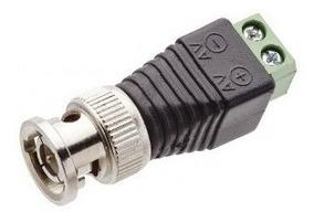 Conector Plug Bnc Macho Com Borne Tf