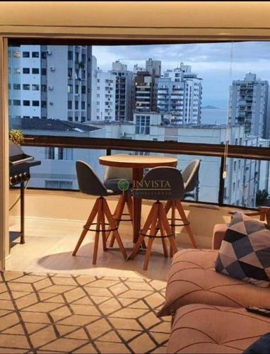 Imagem 1 de 24 de Apartamento Com 4 Dormitórios 136m²  E Vista Mar - Centro - Ap6039