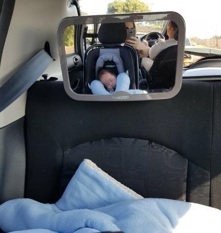 Espelho Carro Para Ver O Bebê, Babá Banco Tras Howdy Kiddo