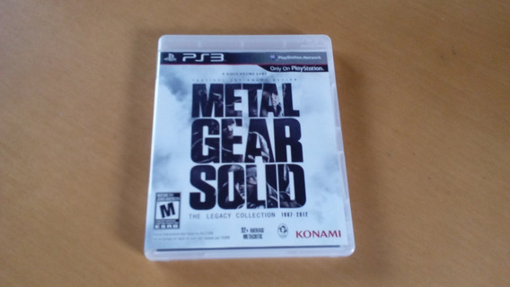 Metal Gear Solid The Legacy Collection 1987-2012 Ps3 -fisico
