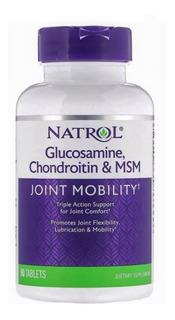 Glucosamina Condroitina M S M 90 Tabletes Natrol