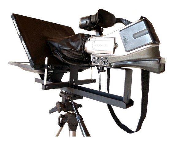 Teleprompter Profissional Monitor Led Lcd iPad Tablet