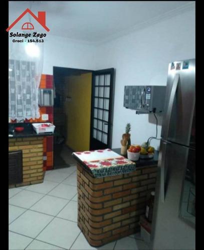 Imagem 1 de 5 de Casa Perfeita No Vaz De Lima - 3 Dormitórios - 190m² - 1782