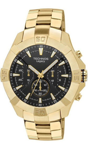 Relógio Technos Js20ae/4p - Legacy - Dourado - 12x Sem Juros