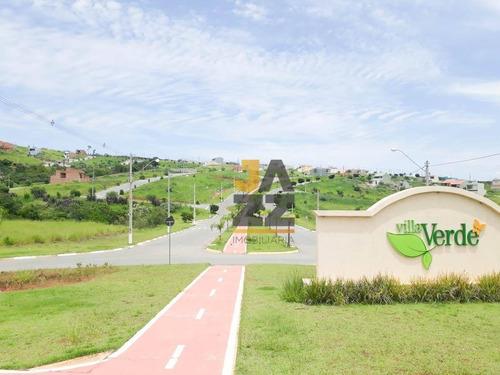 Terreno À Venda, 145 M² Por R$ 110.000,00 - Condomínio Villa Verde Bragança  - Bragança Paulista/sp - Te3048