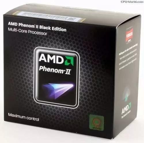 Processador Amd Pnenom Ii X4 Black Edition 3.2mhz