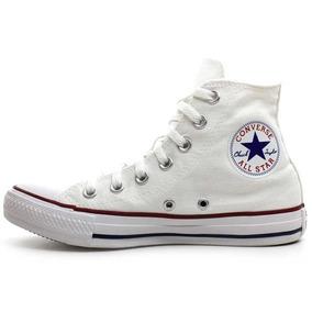 Tênis Branco All Star Converse Botinha Chuck Taylor Unissex