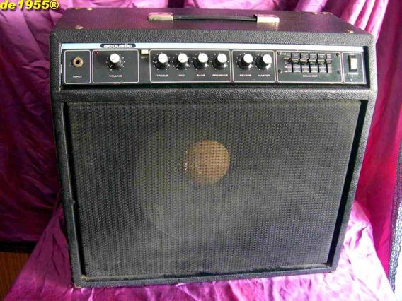 Amplificador Guitarra Acoustic 121 Vintage Usa Parlante 15´