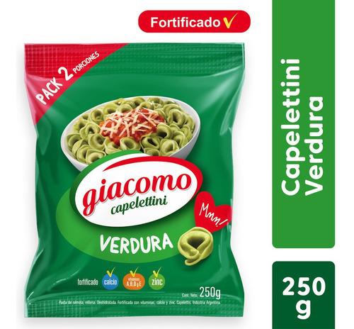 Giacomo Capelettini Verdura Pasta Semola Fortificada X 250 G