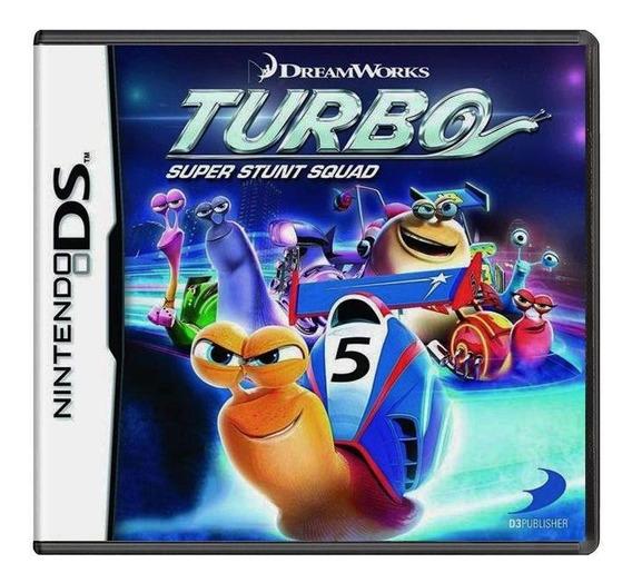 Turbo Super Stunt Squad Ds Mídia Física Pronta Entrega