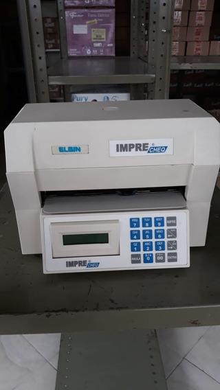 Impressora De Cheque Elgin Matricial Serial