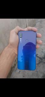 Xiaimi Redmi Note 7 4/64 Azul Semi Novo Sem Detalhes