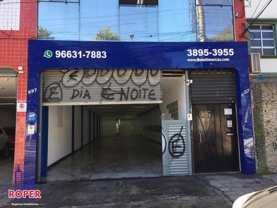 Salão Comercial Com 250 M² Área Construída Para Locação No Ipiranga - Sl00006 - 68103573