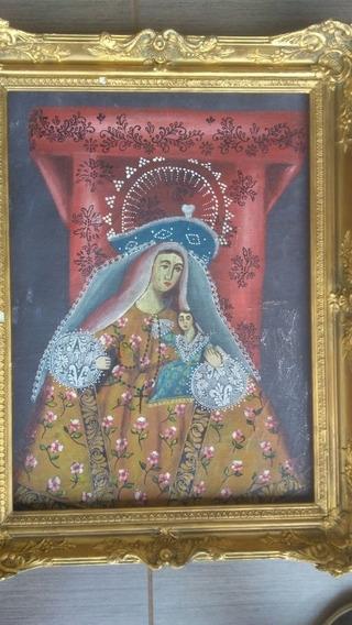 Quadro Cusquenho Antigo Arte Sacra
