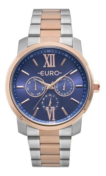 Relógio Feminino Euro Multi Glow Eu6p29aketd/5a