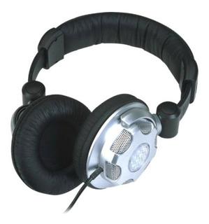 Auricular Vincha Soundking Ej01 C/adaptador Y Control Volum