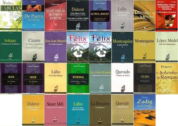 Kit Com 30 Livros Filosofia Sociologia Pensadores - Promoção