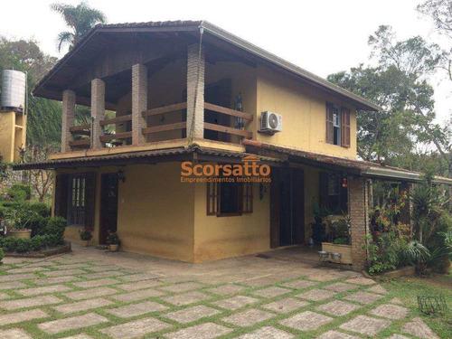 Chácara Com 2 Dorms, Itaquaciara, Itapecerica Da Serra - R$ 830 Mil, Cod: 3644 - V3644