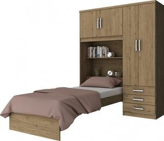 Ropero Placard 4 Puertas /3 Cajones/cama Dormitorio