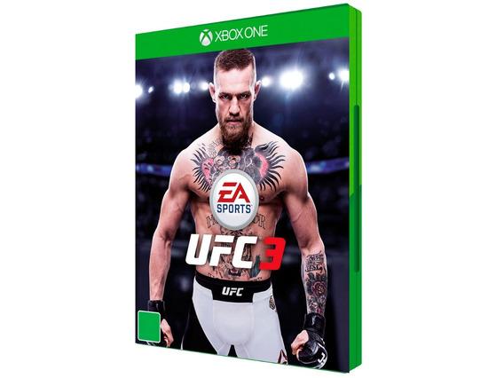 Jogo Mídia Física De Luta Ea Sports Ufc 3 Para Xbox One
