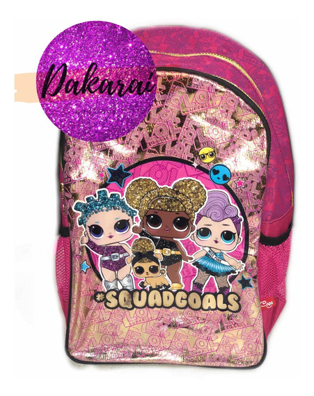 Morral Escolar Lol Surprise , Lonchera, Cartuchera