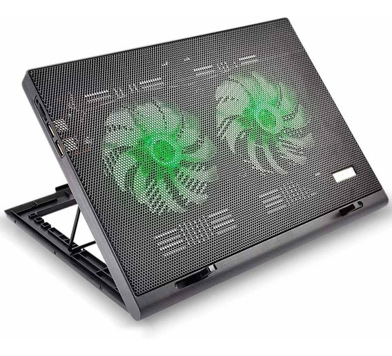 Power Cooler Gamer Para Notebook Led Multilaser Ac267.