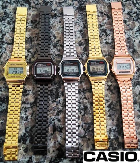 6 Relógios Clássico Retrô Vintage Unissex Atacado