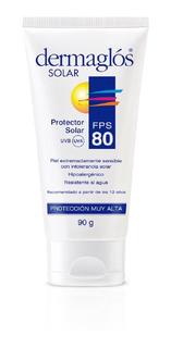 Protector Solar Dermaglós Piel Sensible Extrema Fps 80 90gr