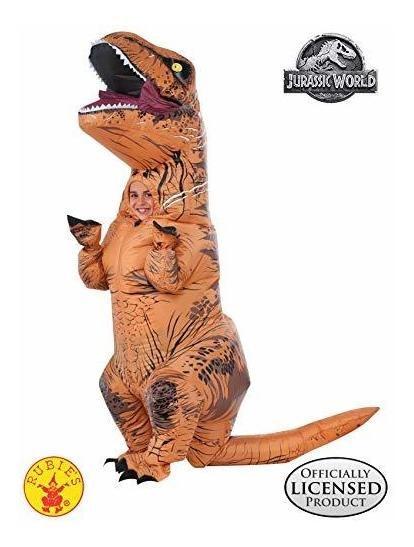 Rubie X26 39 S Jurassic World T-rex Inflatable Costume, Chil