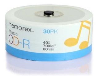 Memorex 32020016609 Cd-r 80 40 X Eco Spindle Discos 30 Unida