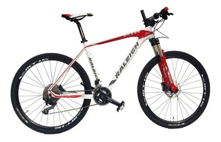 Raleigh 8.0 Rod. 27.5 Carbono Full Deore Talle 19 (m-l)