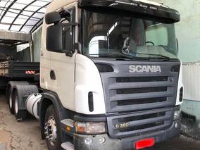 Scania 124 380 6x2 2008 Motor Novo Mb/volvo/vw/iveco/ford