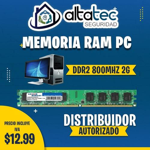 Memorias Ram Ddr2 Ddr3 Ddr4 (pc - Laptop) Nuevas Incluye Iva