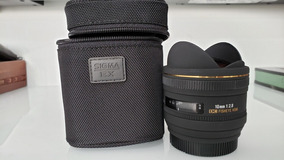 Lente Sigma Sony A Mont 10mm 2.8 Fisheye