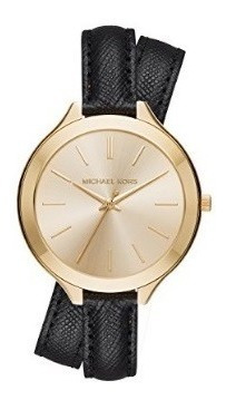 Michael Kors Feminio - Slim Runway Gold Ladies Watch Mk2468