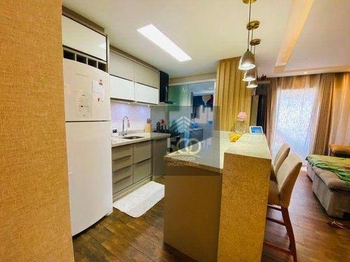 Imagem 1 de 19 de Apartamento À Venda, 85 M² Por R$ 601.999,00 - Ponte Do Imaruim - Palhoça/sc - Ap2080