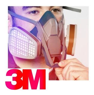 Mascarilla Respirador 3m 6502ql El Mejor Precio !!! Talla G*